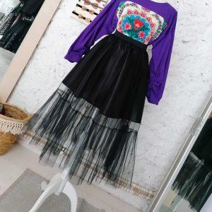 fusta tiul neagra sau orice culoare